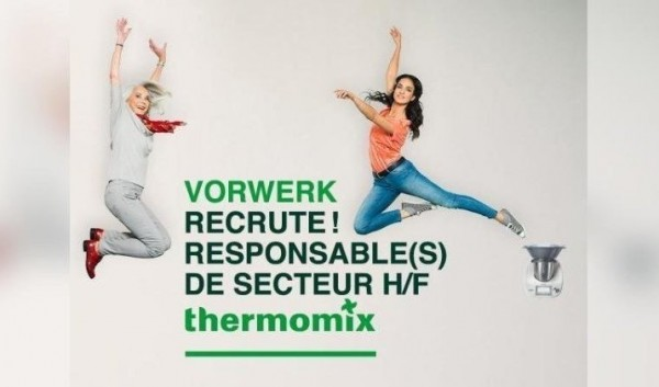 L'AGENCE THERMOMIX DE BELFORT RECRUTE RESPONSABLES DE SECTEUR(S) H/F
