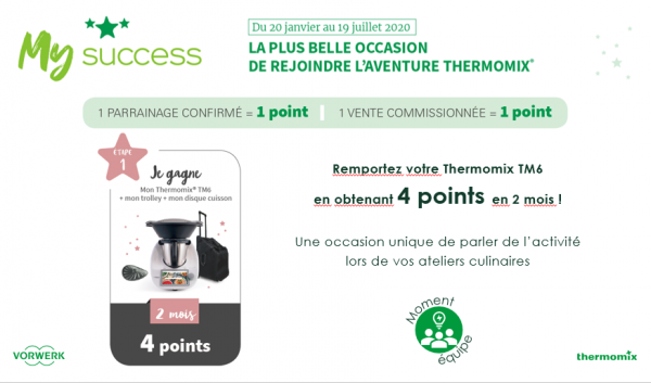 je veux gagner mon THERMOMIX 6