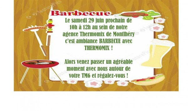 AMBIANCE BARBECUE AVEC THERMOMIX !!!