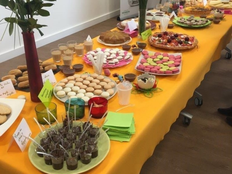 Notre buffet Thermomix
